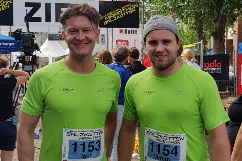 Salzkotten Marathon, Igor Menke, Dimitri Baginski